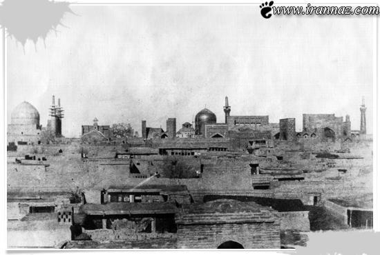 اولین گنبدی که برای حرم امام رضا (ع) ساختند (عکس)