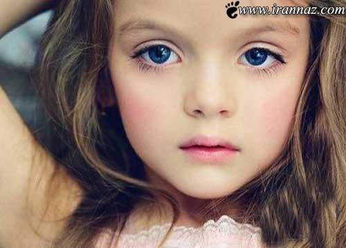 زیباترین و معصوم ترین مانکن کودک در دنیا (عکس)