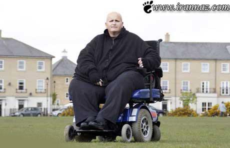 لاغر شدن بسیار عجیب این مرد 200 کیلویی (عکس)