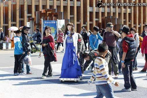 ربات ساخته شده در چین غوغا به پا کرد !!!