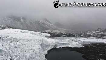 یخچال های طبیعی زیبا از جنس یخ (عکس)