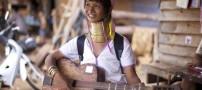 عکس هایی از زنان گردن دراز قبیله ی کایان