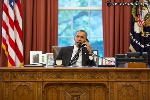 متن جنجالی گفتگو اوباما با رئیس جمهور (عکس)