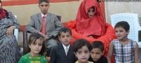 ازدواج حیرت آور پسر عراقی 14 ساله (عکس)