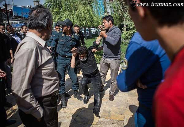 مواد فروشان تهرانی دستگیر شدند (عکس)