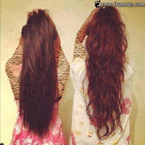 عکس هایی از مدل موهای باز دخترانه 2014