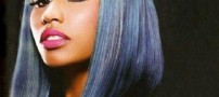 به نظر شما موهای این زن مشهور واقعی است (عکس)