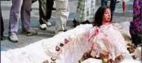 این زن بخاطر داشتن موبایل سنگسار شد (عکس)