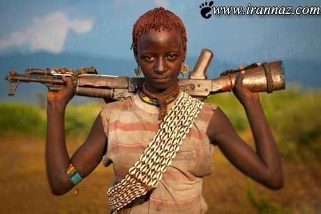 سر سخت زنان این قبیله مشهور شدند (عکس)