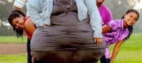 هیکل این خانم رکورد گینس را شکست (عکس)