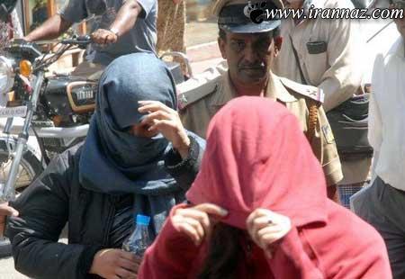 مستی 2 دختر ایرانی در هند غوغا به پا کرد (عکس)