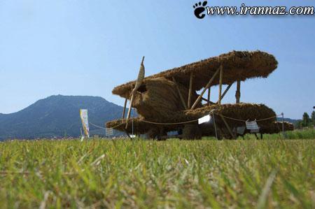 عکس هایی از هنرنمایی کشاورزان در ژاپن