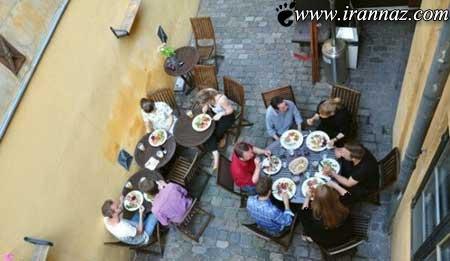 چنین رستورانی را تا به حال دیده اید؟ (عکس)