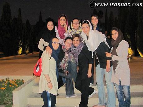 دختری که با قد بلندش در ایران سوژه شد (عکس)