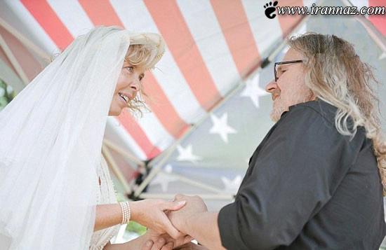 جشن عروسی باورنکردنی در قبرستان (عکس)