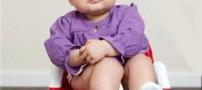 حرف زدن شوکه کننده این کودک در 6 ماهگی! (عکس)