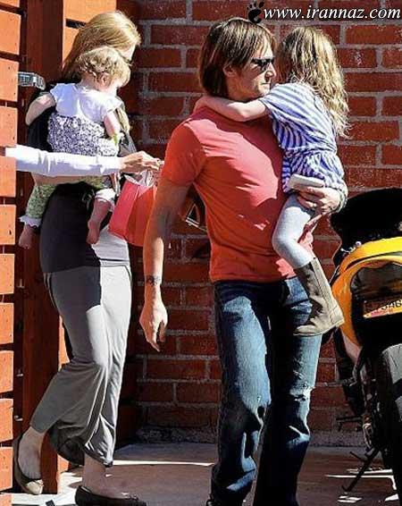 جدیدترین عکس های نیکول کیدمن با خانواده اش