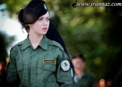 زیباترین پلیس زن در دنیا سوژه شد (عکس)