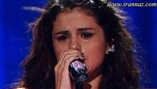 گریه کردن سلنا گومز در کنسرتش (عکس)