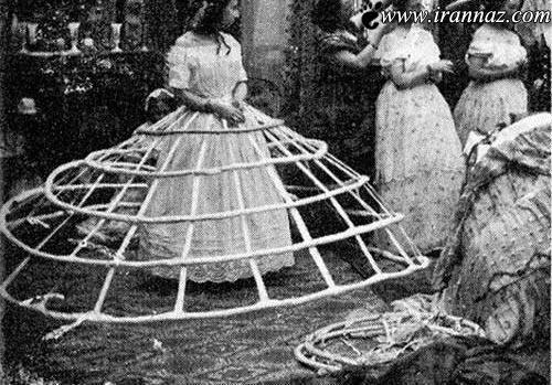 دامن های 200 سال پیش نمایان شد (عکس)