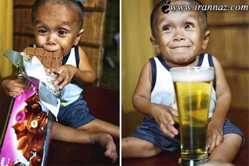 این پسر عجیب رکورد گینس را شکست (عکس)