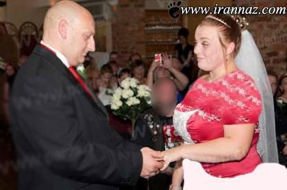 زنی شب عروسی موهایش را تراشید (عکس)