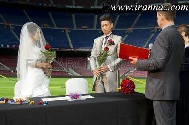 ازدواج این زوج چینی سوژه خبری شد (عکس)