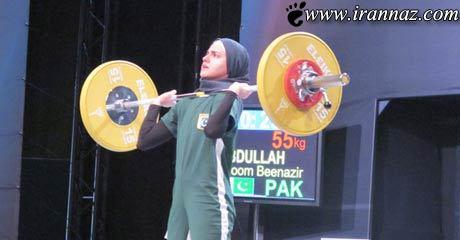 دختر ایرانی همه را جا به لرزه در آورد (عکس)