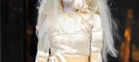 لیدی گاگا با استایل ترسناکش همه را ترساند (عکس)