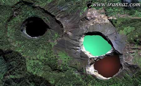 دریاچه ای که همه ی مردم جهان را ترساند (عکس)