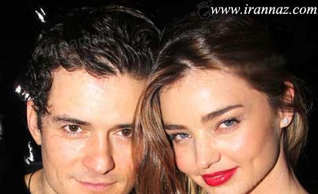 جدا شدن مدل مشهور آمریکایی از شوهرش (عکس)
