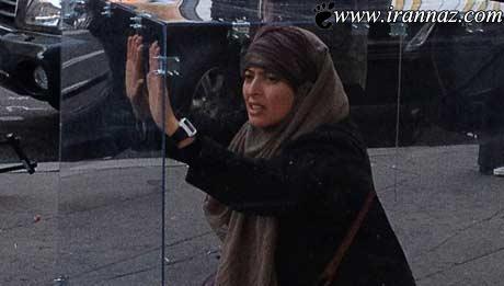 زندانی کردن این زن در زندان شیشه ای عجیب (عکس)
