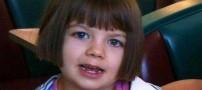 این دختر روزی 120 بار تشنج می شود (عکس)