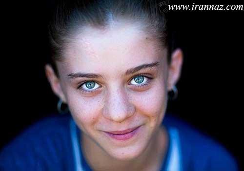 چشمانی که با زیبایشان شما را مجذوب میکند (عکس)