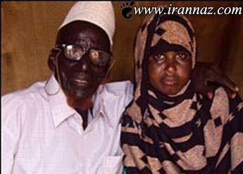 ازدواج دختر جوان با پیرمرد 112 ساله (عکس)