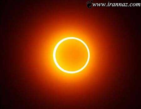 خورشید گرفتگی که همه را شوکه کرد (عکس)