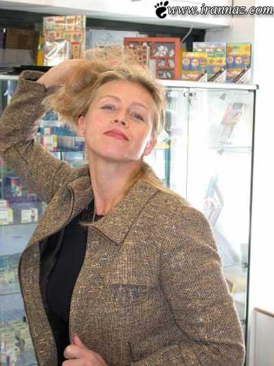 افشای راز باورنکردنی این زن مشهور (عکس)