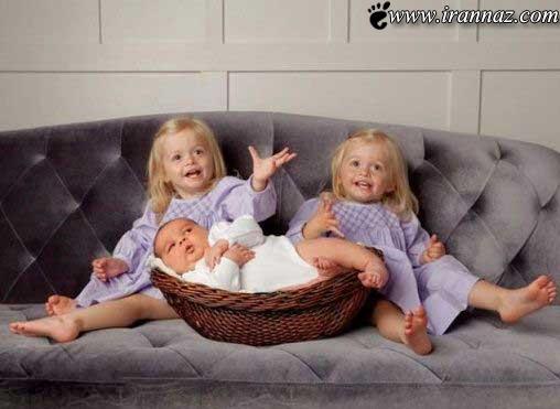 به دنیا آمدن این نوزاد همه را متعجب کرد (عکس)