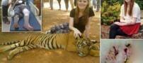 ماجرای ترسناک این دختر خانم در تایلند (عکس)
