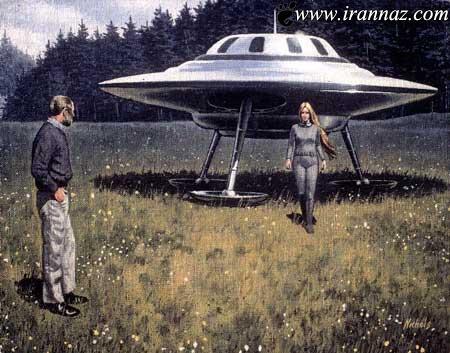 باردار شدن این خانم توسط موجودات فضایی (عکس)
