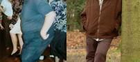 کاهش وزن باورنکردنی 292 کیلویی این مرد (عکس)