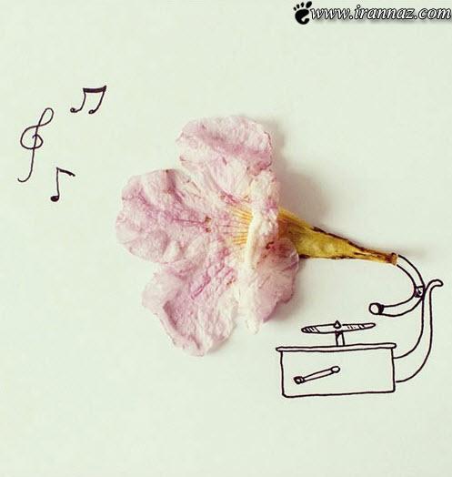 عکس های بسیار زیبا و خلاقانه روی کاغذ