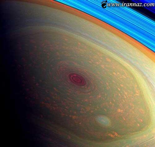 توفان شش ضلعی ترسناک در فضا (عکس)