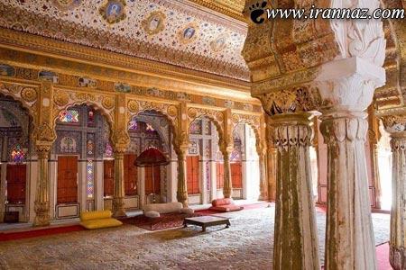 عکس هایی از قلعه ی بی نظیر در هند