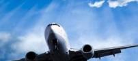 خبر ناراحت کنند آتش سوزی هواپیمای ایران (عکس)
