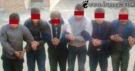 خانه ی فساد تبریز و دستگیری افراد آن (عکس)
