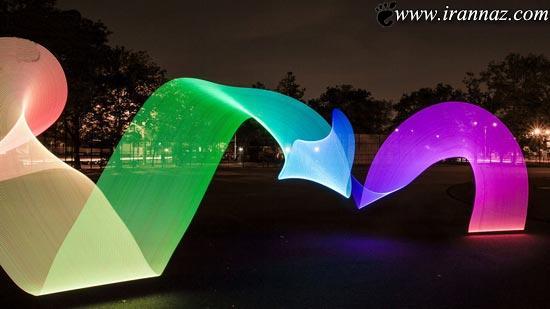 زیبایی این نورها شما را دیوانه می کند (عکس)