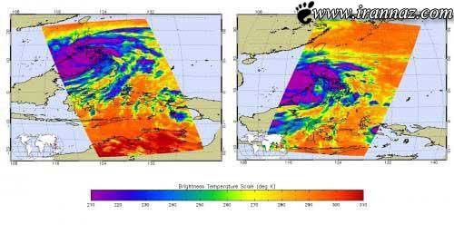 قدرتمند ترین توفان جهان در راه است (عکس)