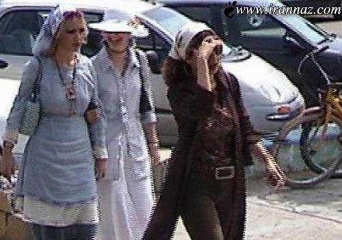 بی حجابی در این مکان بیداد میکند (عکس)