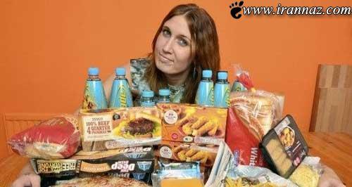 این زن تا به حال در عمرش میوه نخورده (عکس)